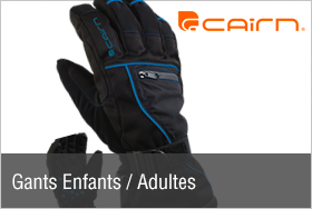 gants Cairn, boutique MGM Sports